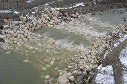 Topoloveni - Check Dam 2010 - Geobrugg