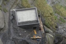 Wasserkraftwerk Schattenhalb 1+ 2016 - Geobrugg