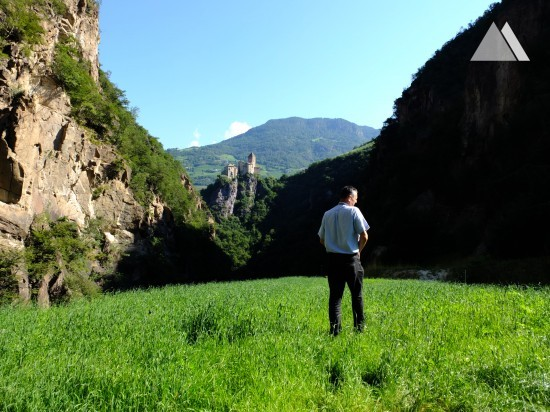 Камнепады, обвалы, осыпи - Gföller Brücke, Val d'Ega 2014