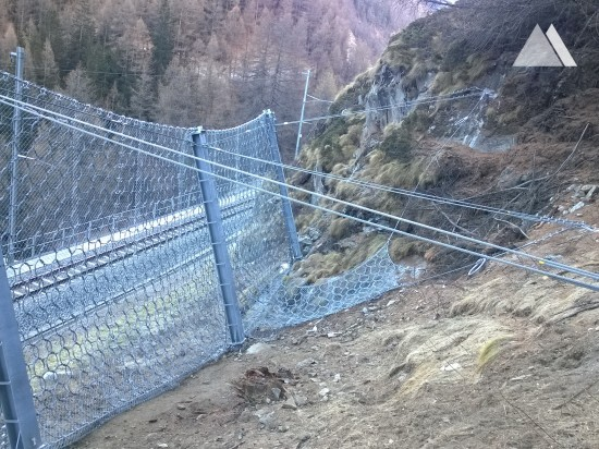 Obre Biel, Matterhorn Gotthard Bahn 2016 - Geobrugg