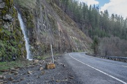 Rockfall Protection - Clackamas Highway, Oregon, OR224 2015