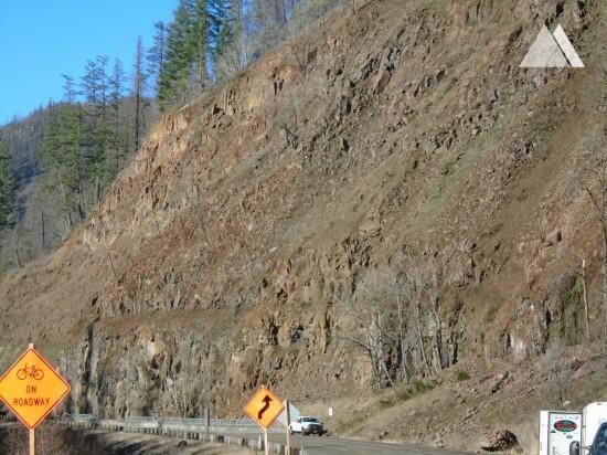 Kaya düşmesine karşı koruma - Clackamas Highway, Oregon, OR224 2015