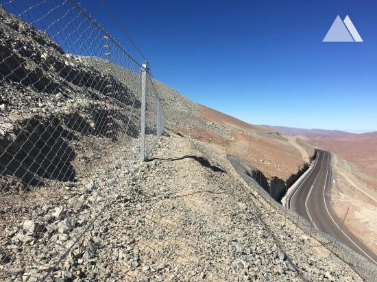 Cerro Armazones - European Southern Observatory 2016 - Geobrugg