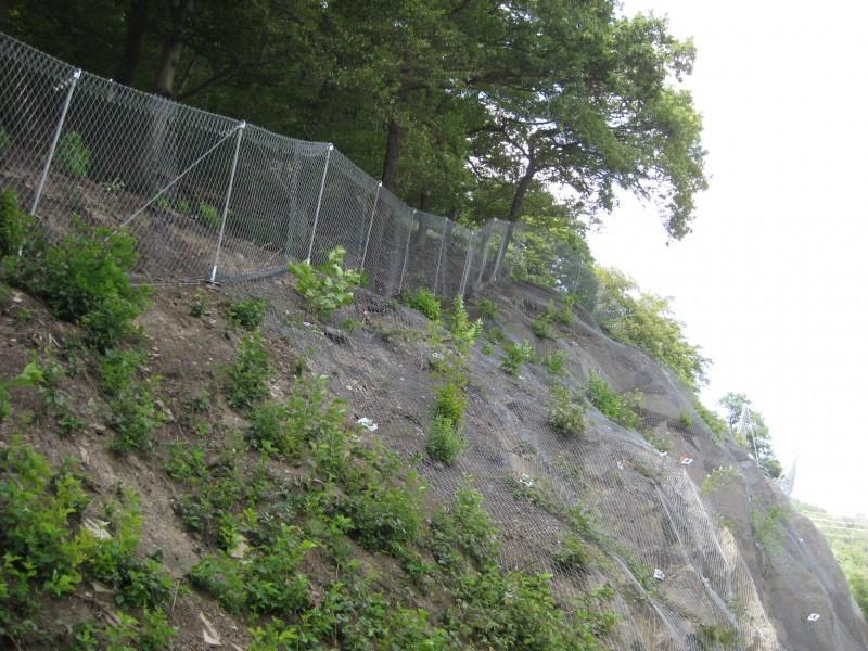 Hengsteysee 2009 - Geobrugg