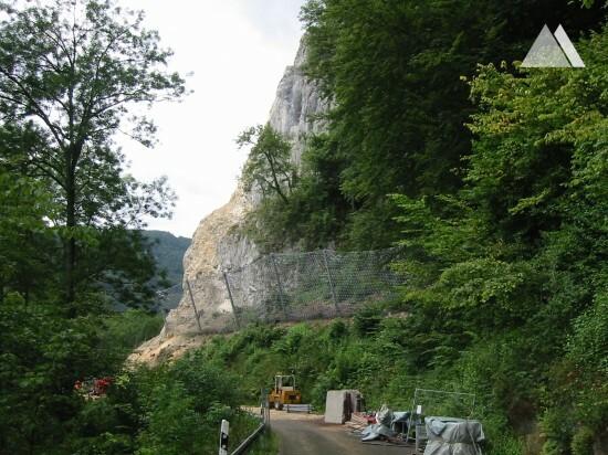 Wittlinger Steige 2009 - Geobrugg