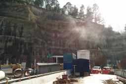 Chenani Nashri Tunnel Portal (2016) 2016 - Geobrugg