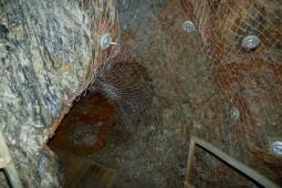 St. Johannes's  mine - underground tourist route 2012 - Geobrugg