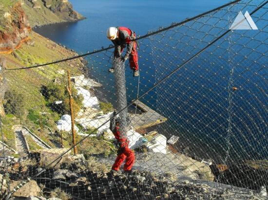 Oia Village - Santorini Island 2013 - Geobrugg