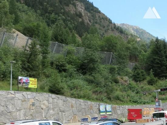 Autoverlad BLS Goppenstein 2012 - Geobrugg