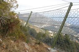 GBE-5000 rockfall barrier 2012 - Geobrugg