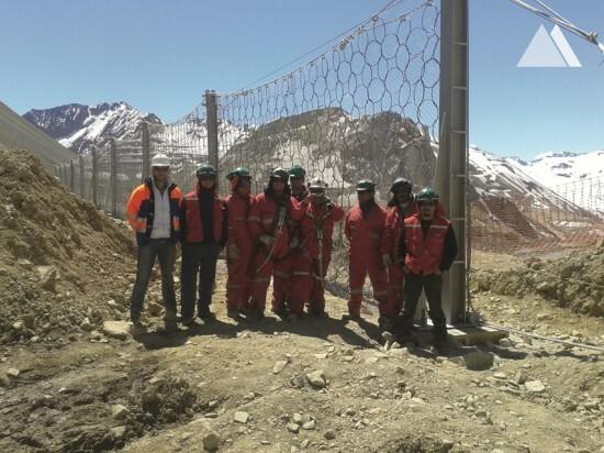 Andina Mine 2010 - Geobrugg