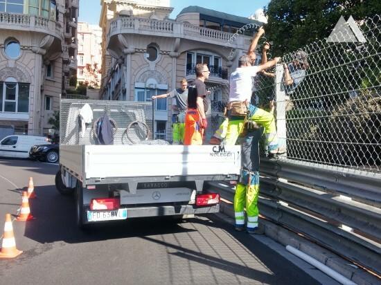 Circuit de Monaco 2017 - Geobrugg