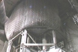 Protection of shaft sinking 2002 - Geobrugg