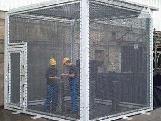 Splinter protection cage 2006 - Geobrugg