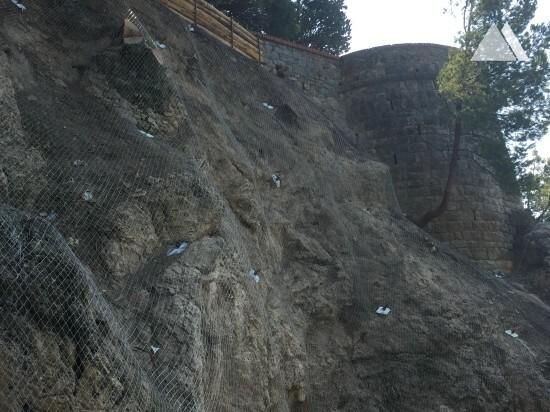 Castello di San Terenzo 2017 - Geobrugg