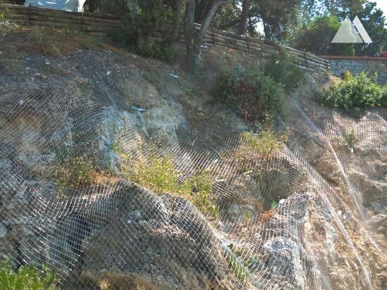 Consolidamento di versanti - Castello di San Terenzo 2017
