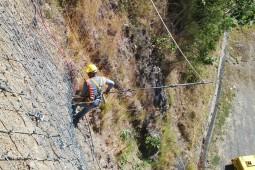 Planta Hidroeléctrica Mendre 1 2016 - Geobrugg
