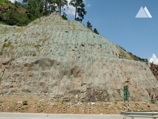 Chenani Nashri Tunnel Portal (2017) 2017 - Geobrugg