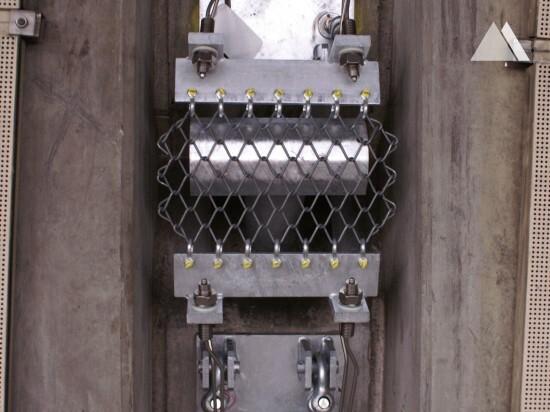 Protecţia la impact - Anchor reinforcement motorway tunnel 2008