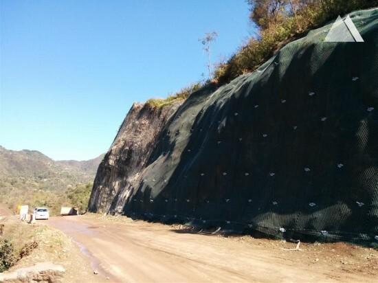 Kiratpur-Ner Chowk National Highway-21, Punjab & Himachal Pradesh 2015 - Geobrugg