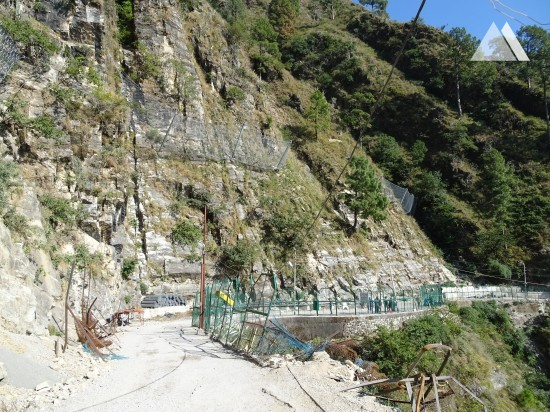 Slope Protection - Trek route to Shri Mata Vaishno Devi Shrine (2) 2016