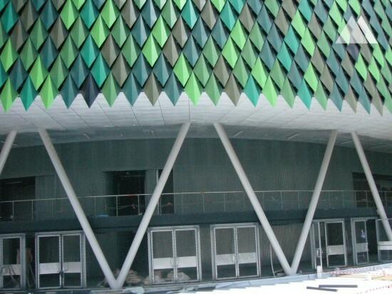 Bilbao Arena 2010 - Geobrugg