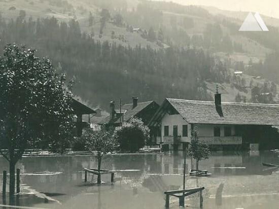 Moloz akışına ve heyelana karşı koruma - Lenk, Bernese Alps 2017