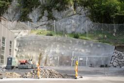 Protezione da caduta massi - Unterpinswang 2017