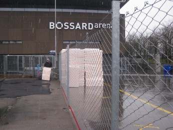 Ice Hockey Stadium - Fencebox 2013 - Geobrugg