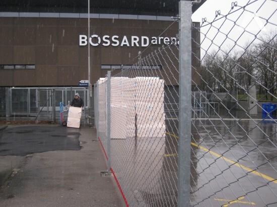Ice Hockey Stadium - Fencebox 2013 - Geobrugg