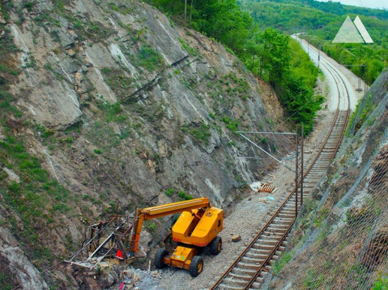 Stabilizacja skarp - Valjevo-Resnik, Serbia 2017