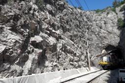 Zagreb-Rijeka Railway Line - Tunnel Meja 2017 - Geobrugg
