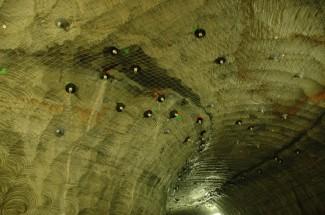 Emmi Kaltbach cave   Switzerland 2010 - Geobrugg