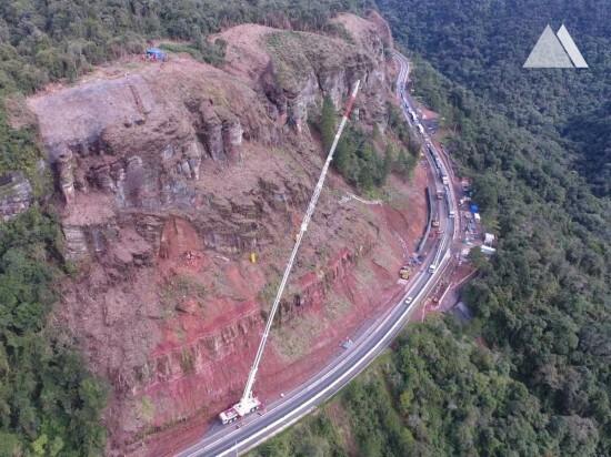 Укрепление склонов - Serra do Espigão 2017