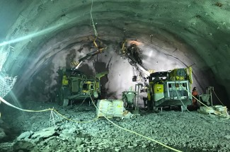 Kopalnie / Wydobycie / Tunel - Alto Maipo Underground 2016