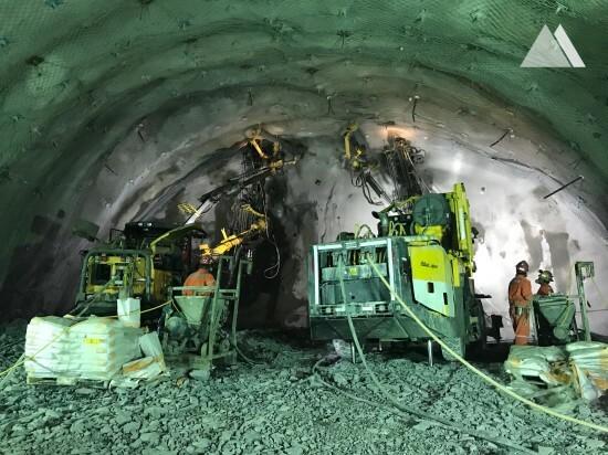 Exploitation minière / Tunnel - Alto Maipo Underground 2016
