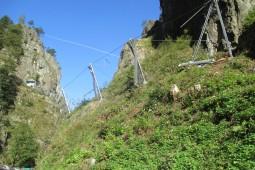 Höllental, Oberer Hirschsprungtunnel 2014 - Geobrugg