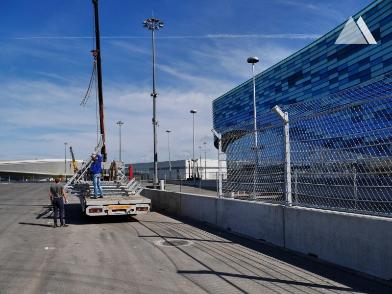 Sochi Autodrom 2014 - Geobrugg