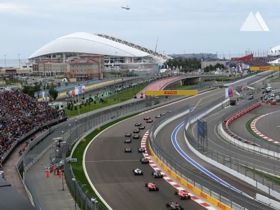 Piste de concurs - Sochi Autodrom 2014