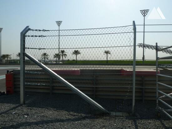 YAS Marina Circuit 2013 - Geobrugg