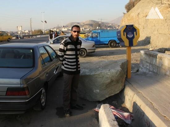 Karaj Hafez Square 2017 - Geobrugg