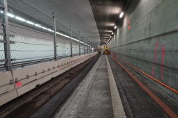 Stelzentunnel Tunnel Maintenance 2017 - Geobrugg