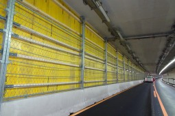 Road fencing - Stelzentunnel Tunnel Maintenance 2017