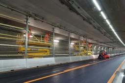 Delimitarea drumurilor - Stelzentunnel Tunnel Maintenance 2017