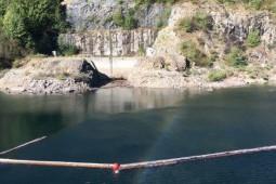 Protection contre les glissements de terrain et les laves torrentielles - Log Barrier Spirit Lake 2017