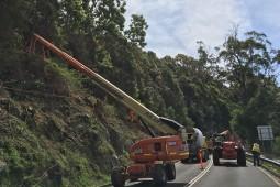 Hangmuren- und Murgangschutz - Bulli Pass (1) 2017