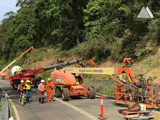 Kaya düşmesine karşı koruma - Bulli Pass (1) 2017
