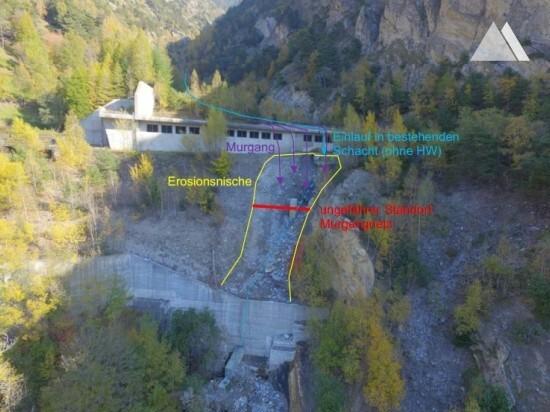 Protección contra flujos de detritos y deslizamientos superficiales - Galerie Maachi - BLS 2017