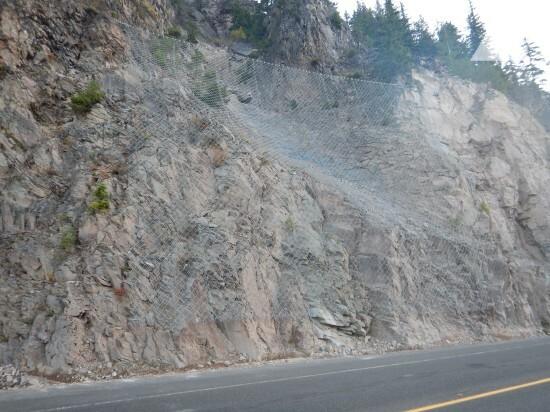 边坡稳定 - Cascade Mountain, US Highway 12 2017