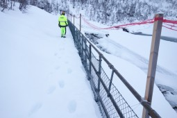 Avalanche Prevention - Tunsbergdalsdammen Access Control 2017